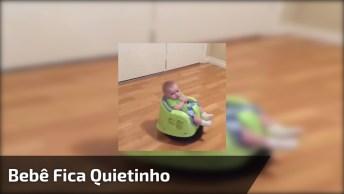 Vídeo De Como Fazer Seu Bebê Ficar Quietinho, Olha Só Que Ideia!