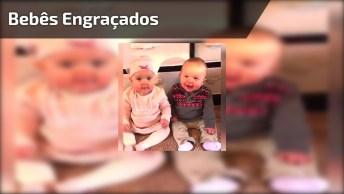 Video Engraçado De Bebês, Como Não Rir Dessas Fofuras?