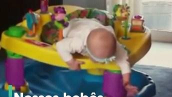 Vídeo Impactante, Veja Só O Que Esse Bebês Aprontam Para Fugir, Kkk!