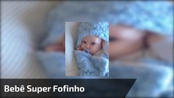 Vídeo Mais Fofo Que Você Verá Hoje, Olha Só Esta Lindeza De Bebê!