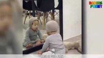 Vídeo Recheado De Situações Engraçadinhas Com Bebês, É Impossível Não Rir!