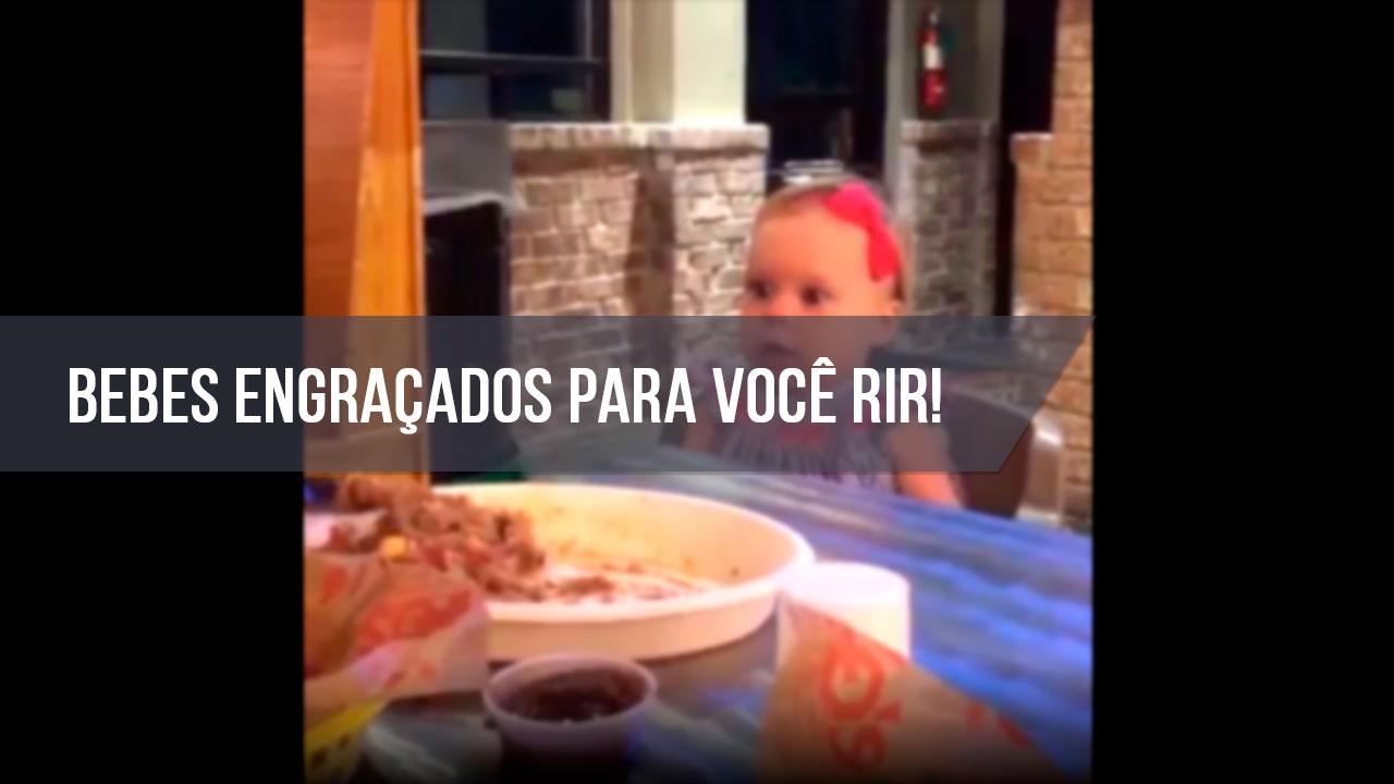 Vídeo recheado de situações super fofas engraçadas com bebês