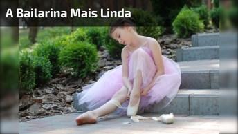 A Bailarina Mais Linda Que Você Vai Ver Hoje, Ela É Uma Princesinha!