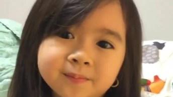 Criança Adorável Falando Frases Fofas, Mais Um Vídeo Muito Lindo!