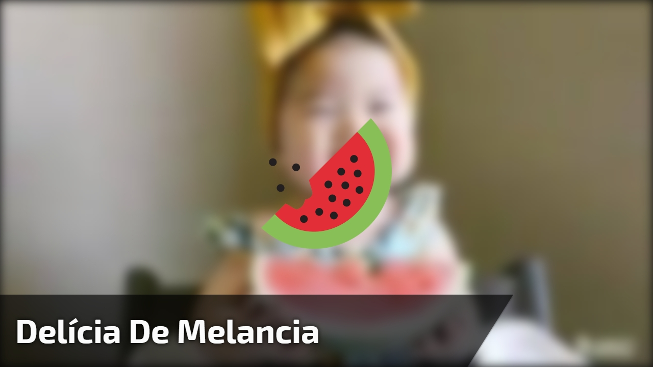 Delícia de melancia