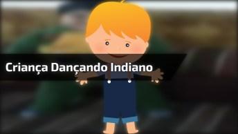 Criança Dançando Música Indiana, Ele Tem Muito Ritmo, Confira!