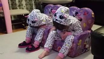 Crianças Com Sono Pesado, Pode Cair A Casa Que Não Acordam!