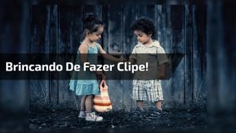 Crianças Fazem Clip Da Música 'Romântico Anonimo', Impossível Não Rir!