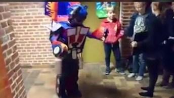 Fantasia De Transformers, As Crianças Vão Amar Essa Ideia, Confira!