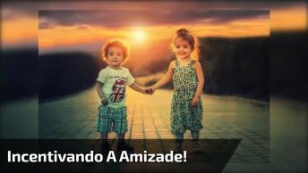 Ideia Para Incentivar A Amizade Entre Todas As Crianças Da Sala!