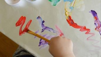 Ideia Para Interagir Com Seu Filho E Colocá-Lo Para Usar A Criatividade!