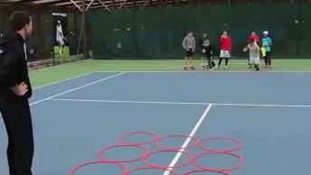 Jogo Da Velha Versão Fitness, Assim As Crianças Brincam E Fazem Exercícios!