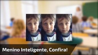Leonardo, A Criança Mais Inteligente Que Você Já Viu, Confira!