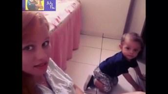 Mãe Pede Para Bebê Falar Mamãe E Veja O Que Ele Fala, Muito Lindo!