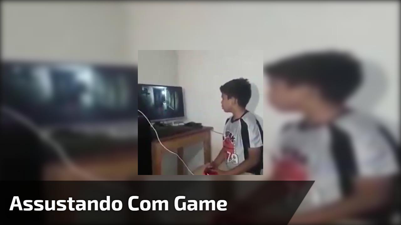 Assustando com game