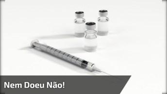 Menino Grita Ao Tomar Vacina E Depois Fala Que Nem Doeu Não Kkk!