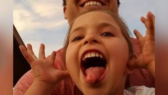 Papais Tendo Momentos Fofos Com Filhas Meninas, É Muito Legal De Ver!