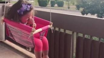 Para Uma Criança, Ter Um Balanço Pode Ser Uma Adrenalina E Tanto!