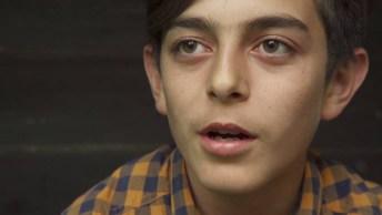 Veja Só A História De Mustafá, Com 14 Ele Fugiu Da Síria!
