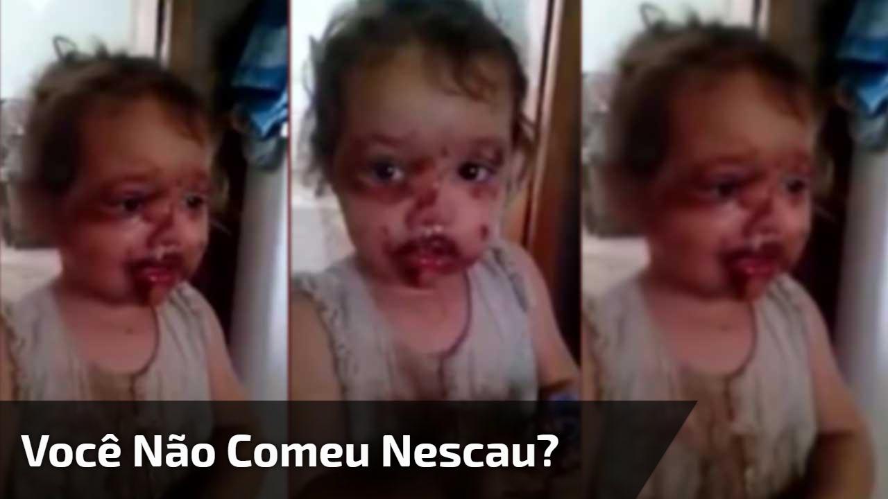 Você não comeu Nescau?