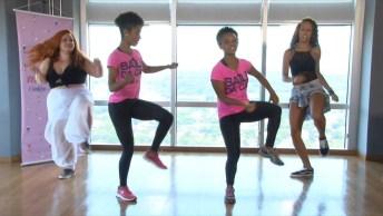 Aprendendo A Dançar Um Pouco Do Funk, Um Vídeo Muito Criativo!