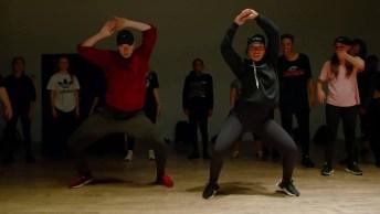 Apresentação De Casal Em Academia De Dança, Veja Esta Coreografia!