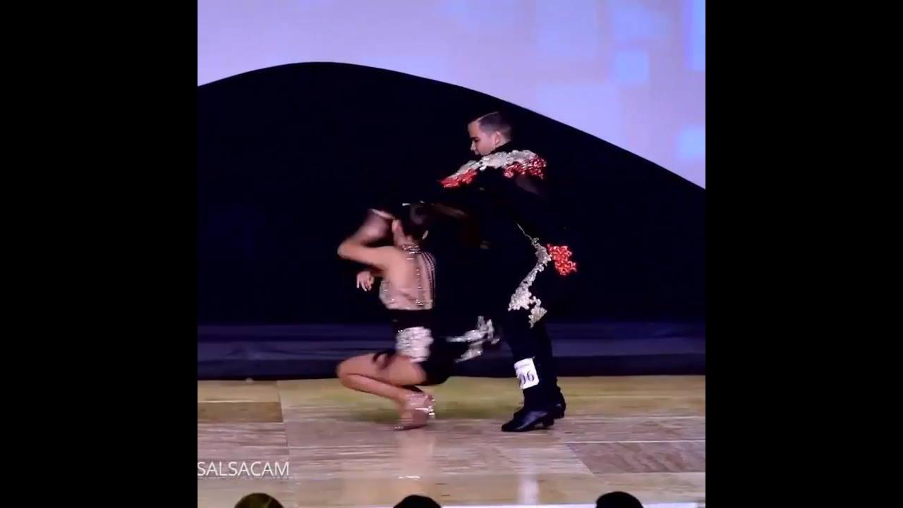 Apresentação de dança de salão