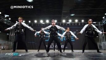 Apresentação De Grupo De Dança Olha Só Que Galera Boa No Que Faz!