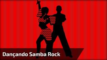 Apresentação De Samba Rock, Este Casal Manda Muito Bem Na Dança!