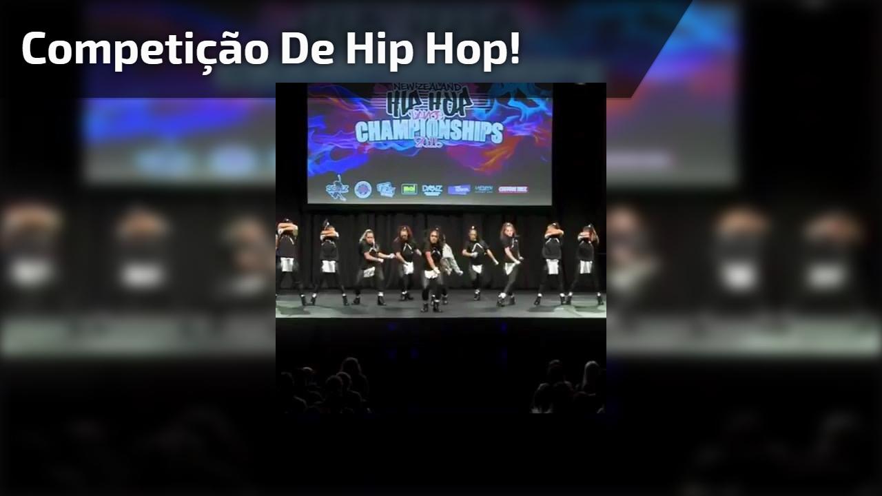 Apresentação incrivel de um grupo em uma competição de Hip Hop!!!