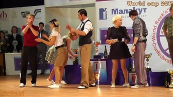 Apresentação Incrível Destes Casais, Veja Como Dança Muito!