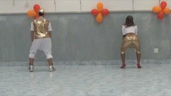 Casal Dançando Gafieira Funkeada, Um Verdadeiro Espetáculo!