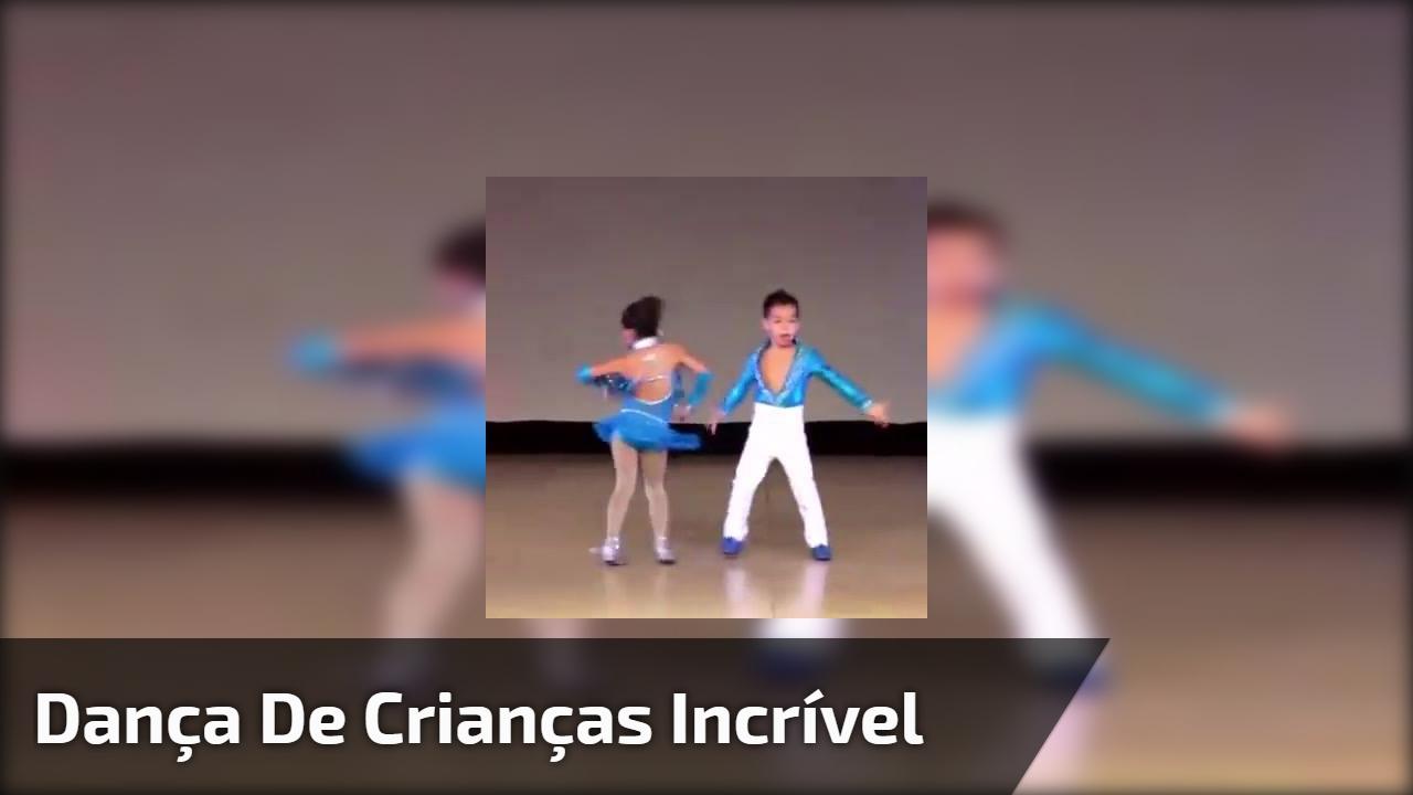 Dança de crianças incrível