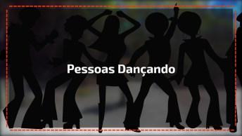 Compilação De Cenas De Pessoas Dançando Uma Música Dance Das Antigas!