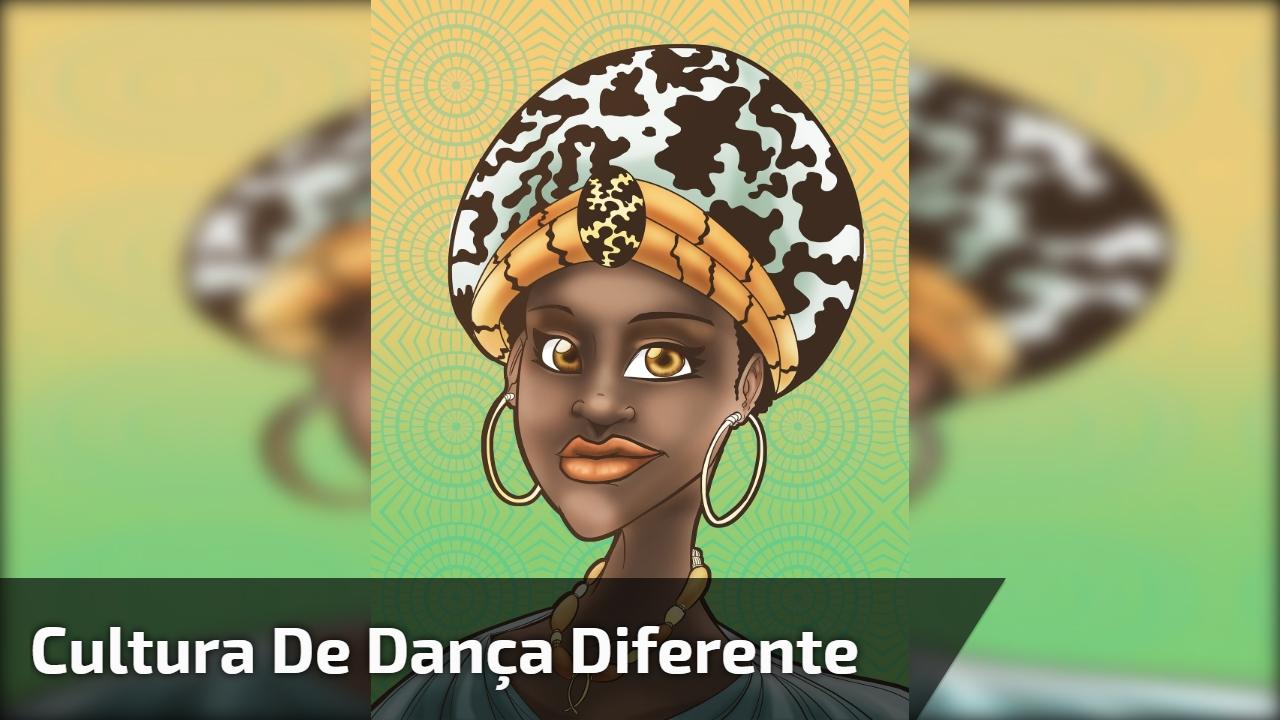 Cultura de dança diferente