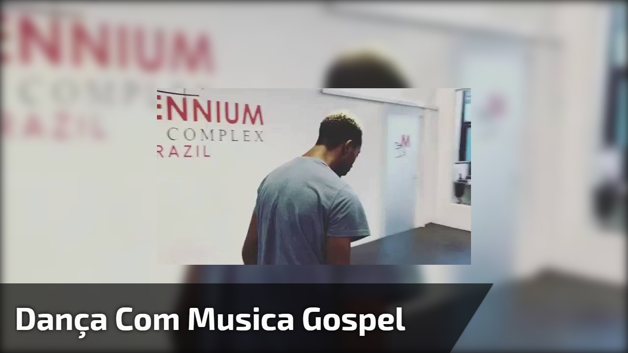 Dança com musica gospel