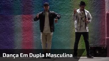 Dança De Dupla De Rapazes, Olha Só Como Eles Mandam Super Bem!