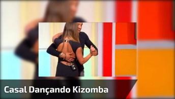 Dança De Salão, Veja A Apresentação Deste Casal Dançando Kizomba, Muito Legal!