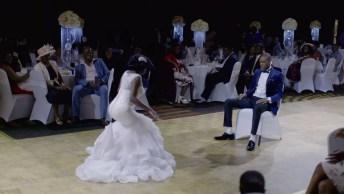 Dança Gospel De Noivos, Entre Revezamentos Os Dois Dançam Muito!