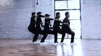 Dança Interessante De Grupo Masculino De 5, Vale A Pena Conferir!