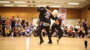 Dupla Dançando Kizomba, Um Ritmo Que Hipnotizar Você, Confira!