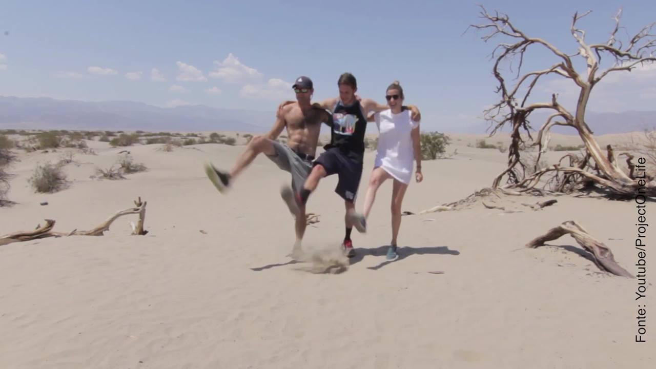 Esse vídeo de dança é mundo legal!