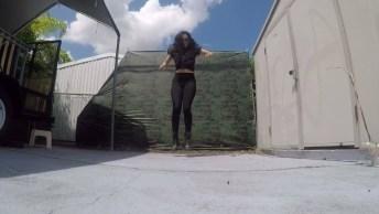 Garota Dançando Free Step, Veja Como Ela Manda Super Bem!