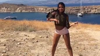 Garota Dançando 'Mi Gente' De J. Balvin, Willy William, Veja Como Ela Manda Bem!