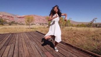 Garota Dançando, Olha Só Que Legal Como Ela Manda Bem Na Dança!