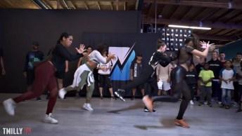 Garotas Dançando Olha Só Que Legal Esta Coreografia, Elas Mandam Muito Bem!