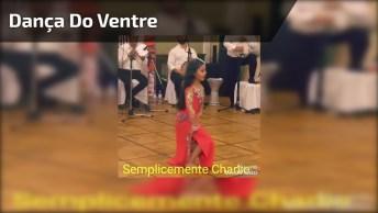 Garotinha Dançando Dança Do Ventre, Ela Arrasa Manda Muito Bem!
