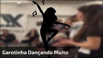 Garotinha Dançando Muito Bem, Quando Se Nasce Com Dom É Assim!