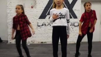 Garotinhas Dançando Hip Hop. Olha Só Como Elas Mandam Bem!