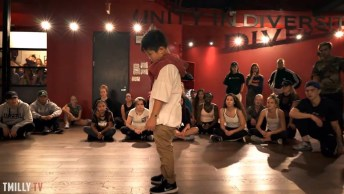 Garotinho Dançando De Forma Fantástica, Olha Que Performance!